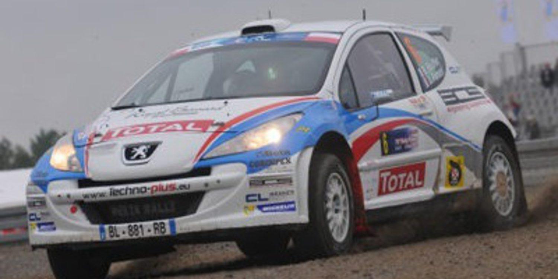 Bouffier lidera el Rally de Polonia con Kubica eliminado