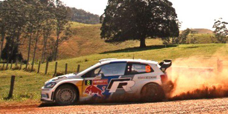 Sebastien Ogier gana el Rally de Australia pero no el Mundial