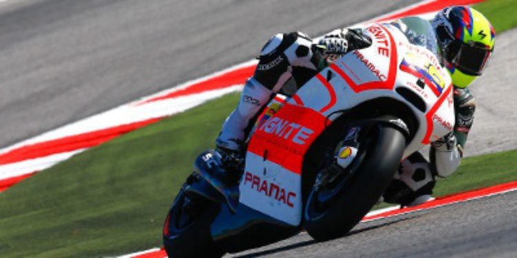 Yonny Hernández en Pramac Racing por Ben Spies