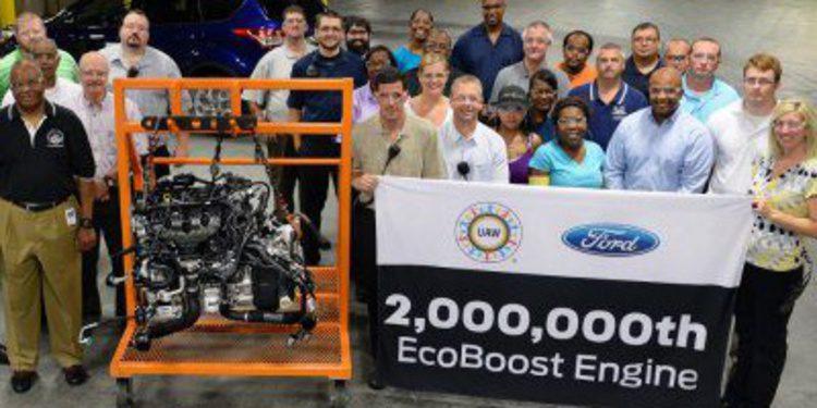 Ford celebra la fabricación del motor EcoBoost dos millones
