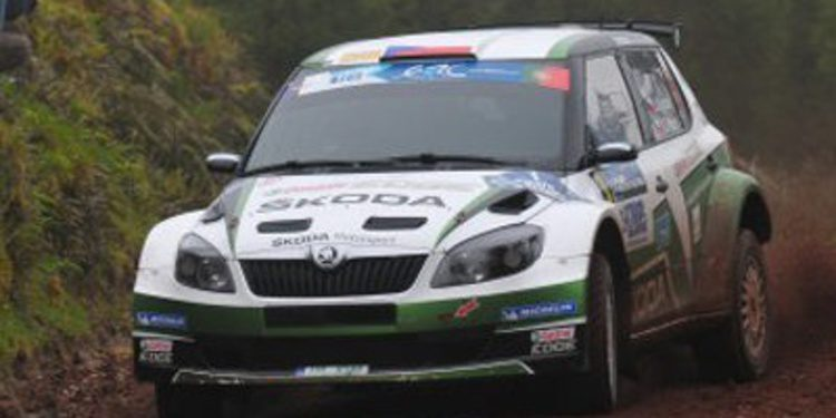 Jan Kopecký ya es campeón del ERC 2013