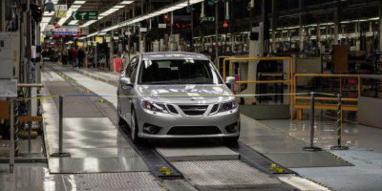 NEVS fabrica el primer Saab 9-3 de su historia