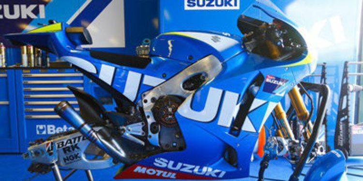 Suzuki termina sus tres días de test en Misano