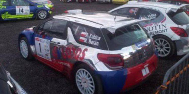 Robert Kubica se entrena ganando en el Rally Vosgien