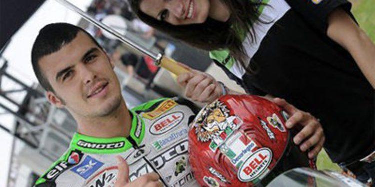 Luca Scassa por Abraham en la cita de MotoGP en Aragón