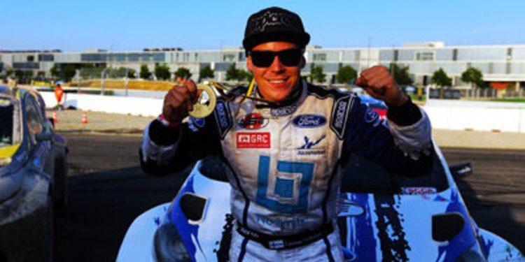 Toomas Heikkinen se lleva el título del Global Rallycross
