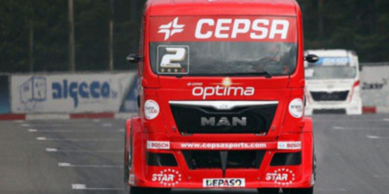 GP Camión: Antonio Albacete da un mordisco al título en Zolder