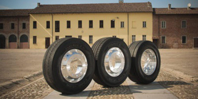 Goodyear y sus gomas KMAX y FUELMAX para camiones