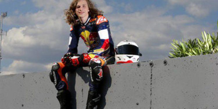 Karel Hanika con KTM Ajo en Moto3 para 2014