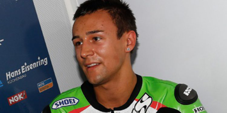 Randy Krummenacher es baja en el GP de Aragón de Moto2