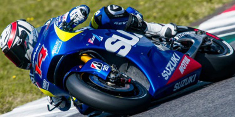 Fin de los test europeos de Suzuki MotoGP en Mugello