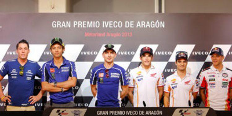 Rueda de prensa oficial GP Aragón 2013 de MotoGP