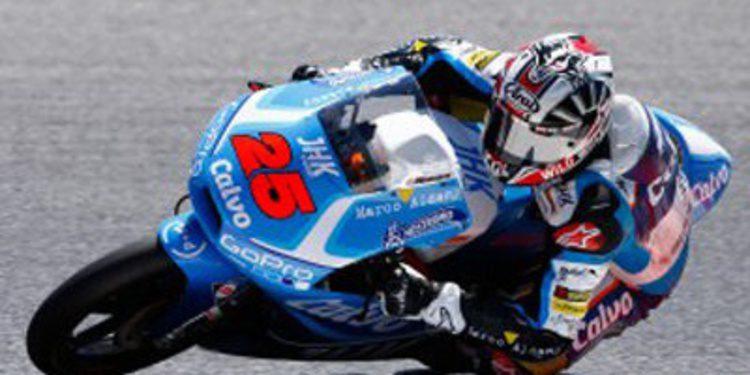 FP1 de Moto3 en Aragón para Viñales. María Herrera brilla