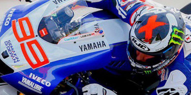 Lorenzo arrebata a Márquez los FP1 de MotoGP en Alcañiz