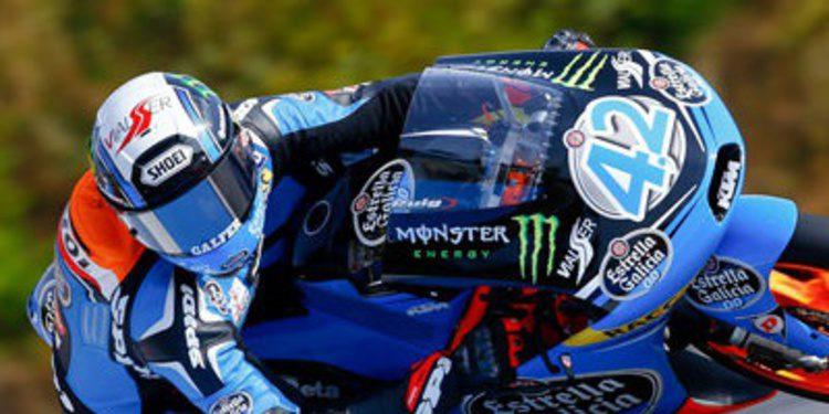 Alex Rins y Viñales se retan en los FP2 Moto3 en Alcañiz