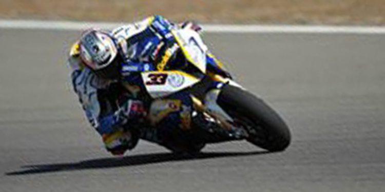 Marco Melandri encabeza la QP2 del WSBK en California