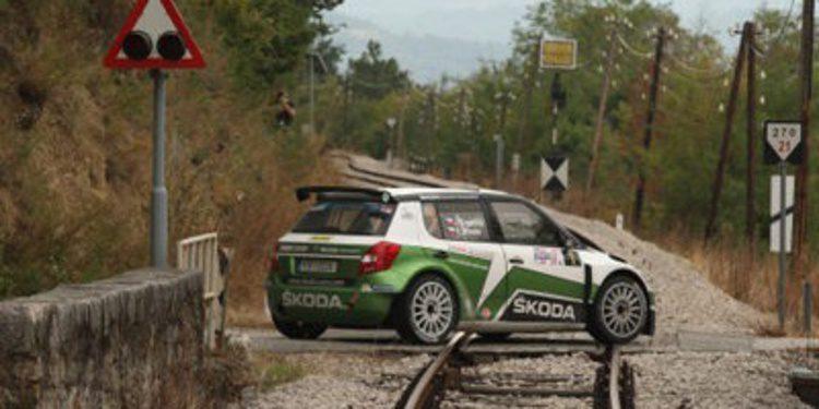 Jan Kopecký gana el Rally de Croacia y celebra su título del ERC