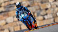 Alex Rins gana la carrera de Moto3 en MotorLand Aragón
