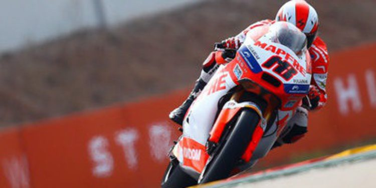 Nico Terol rey de MotorLand. Pol Espargaró aprieta Moto2