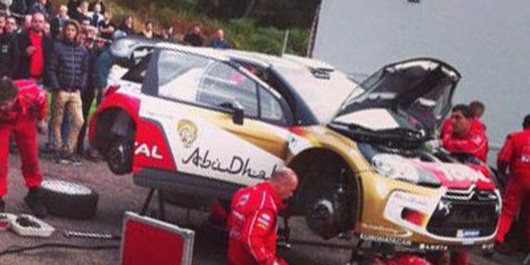 Varios test para el WRC en su camino al Rally de Francia