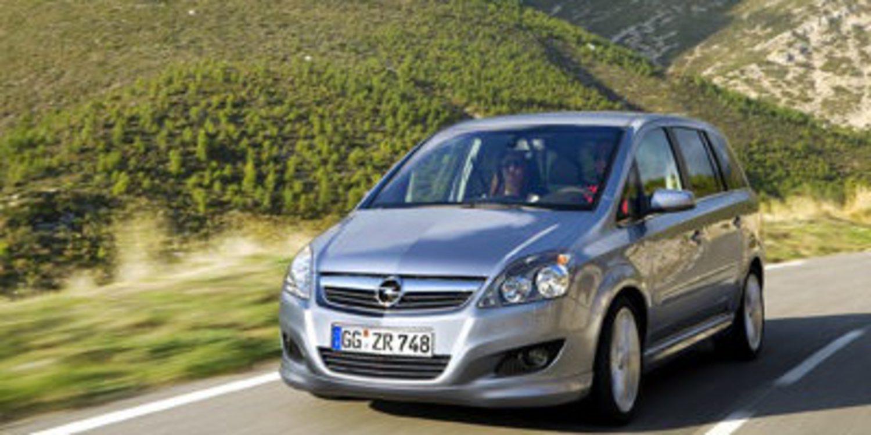 Opel mejora la gama de motores del Zafira Family