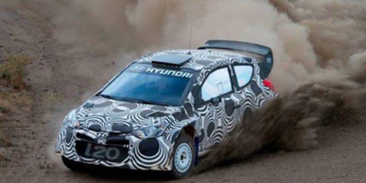 Hyundai Motorsport prueba el i20 WRC en España