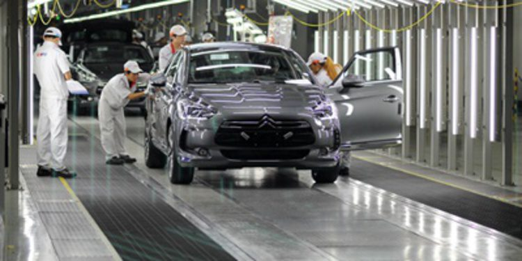 Citroën inicia la producción del DS5 en china