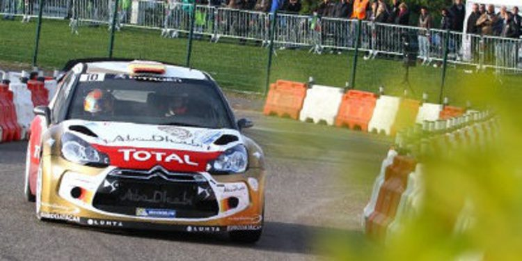 Sordo domina el shakedown del Rally de Francia