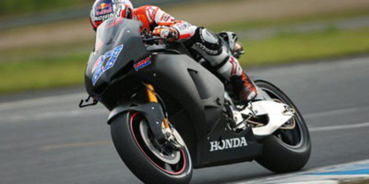 Efímero test de Casey Stoner con la Honda Carreras Cliente
