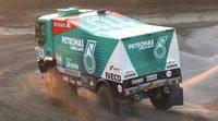 Pep Vila en el Dakar 2014 con el equipo Iveco de Rooy