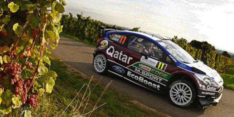 Thierry Neuville rompe el duelo Ogier-Loeb en el Rally de Francia