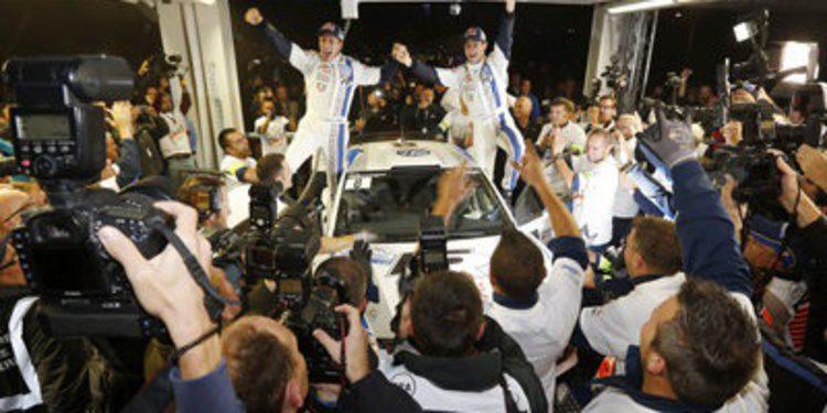 Las palabras del título del WRC de Sebastien Ogier