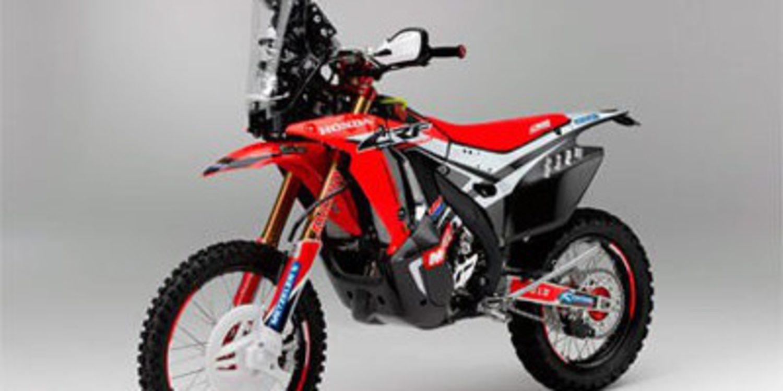 Honda presenta la CRF450 Rally para el próximo Dakar