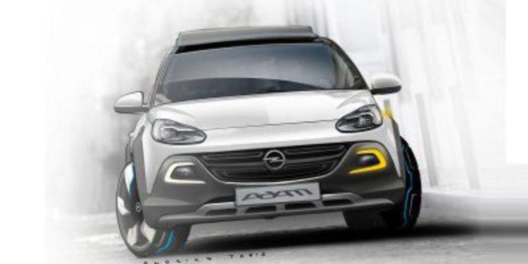 El Opel Adam Rocks podría llegar a producción