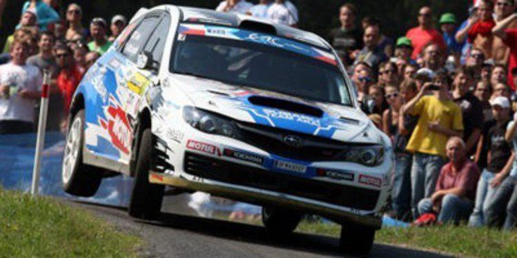 Rally de Sanremo: lucha por el segundo puesto del ERC