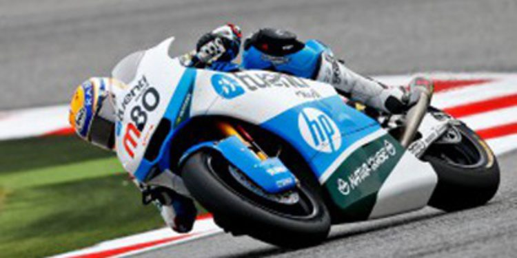 Tito Rabat en los FP1 Moto2 de Sepang entre nubes negras