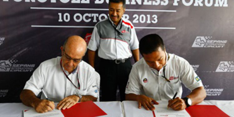 El GP de Malasia de MotoGP en Sepang hasta 2016