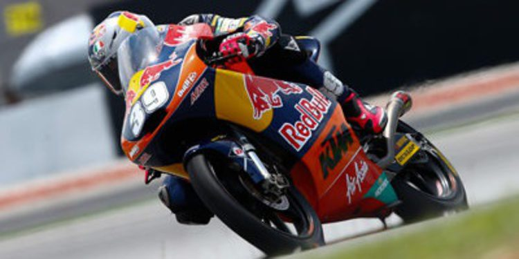 Luis Salom, tercera pole del año de Moto3 en Sepang