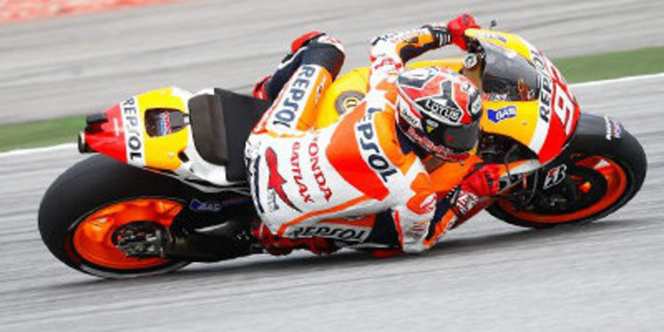 Marc Márquez pole de MotoGP en Sepang a una carta