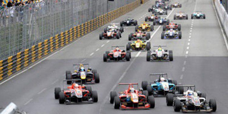 Más de 25 inscritos en el GP de Macao de F3 2013