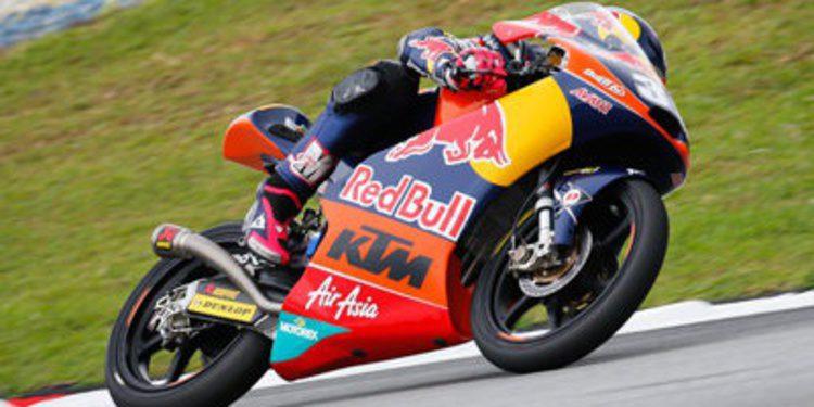 Luis Salom gana una carrera infernal de Moto3 en Sepang