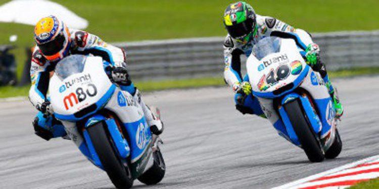 Tito Rabat gana en Moto2 en Sepang con Pol Espargaró 2º
