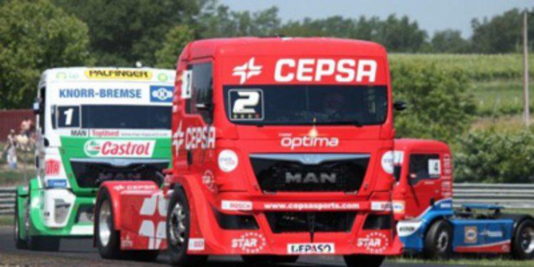 GP Camión Le Mans: Hahn gana el título, Antonio Albacete subcampeón