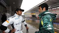 Chandhok y Karthikeyan en la Race of Champions 2013