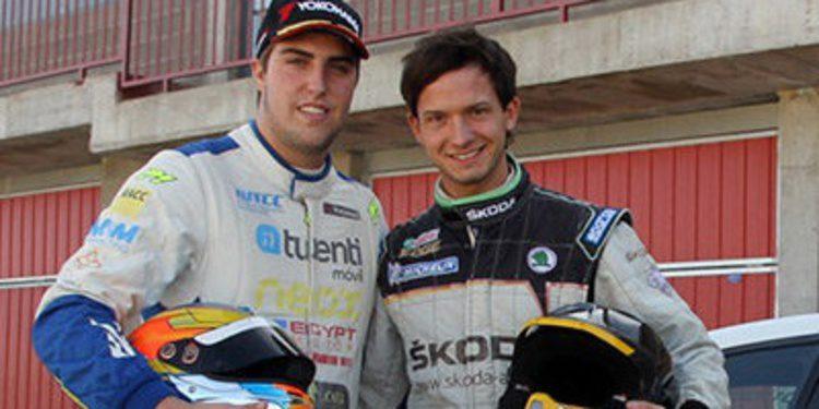 Pepe Oriola y Sepp Wiegand ruedan juntos en Alcarrás