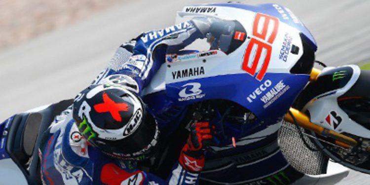 Lorenzo y Márquez, jefes de los FP1 MotoGP en Australia