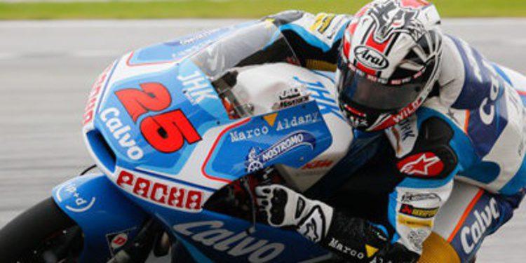 Mack Viñales cierra arriba el viernes australiano de Moto3