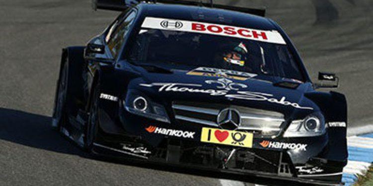 Gran actuación de Roberto Merhi en DTM, segundo en Hockenheim