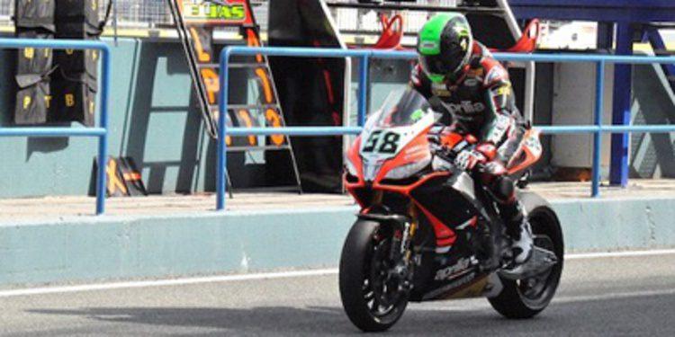 Eugene Laverty, doblete en Jerez para cerrar el WSBK