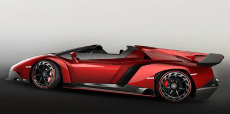 El Lamborghini Veneno Roadster, al descubierto